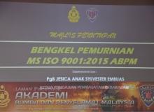 BENGKEL PEMURNIAN MS ISO 9001:2015 ABPM
