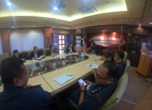 Lawatan daripada Delegasi Malaysia Fire Protection Association (MFPA) ke ABPM Wilayah Tengah