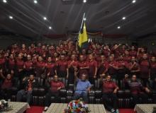 Majlis penyerahan bendera kontinjen PSKK Ibu Pejabat ke Sukan Bomba Malaysia (SUKBOM) 2018