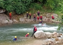Majlis Penutupan Kursus White Water Rafting
