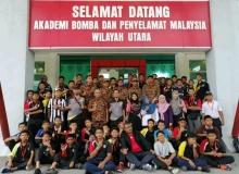 Program Kepimpinan Pelajar SMK Sultan Yussuf Batu Gajah di Akademi Bomba Wilayah Utara