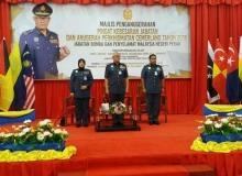 Majlis Penganugerahan Pingat Kebesaran Jabatan dan Anugerah Perkhidmatan Cemerlang Tahun 2018 JBPM Negeri Perak dan ABPM Wilayah Utara