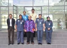 Kunjungan hormat Komandan ABPM Akademi Bomba Wilayah Utara ke  UiTM Perak Kampus Seri Iskandar